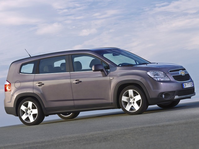 Внешний вид Chevrolet Orlando