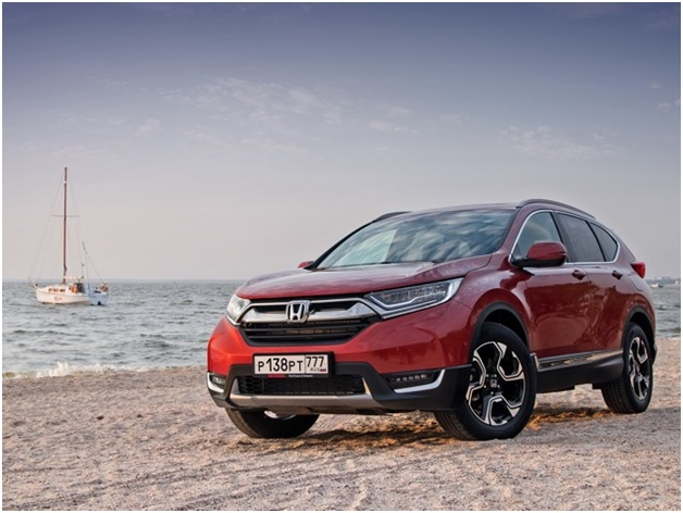 Внешний вид автомобиля Honda CR V