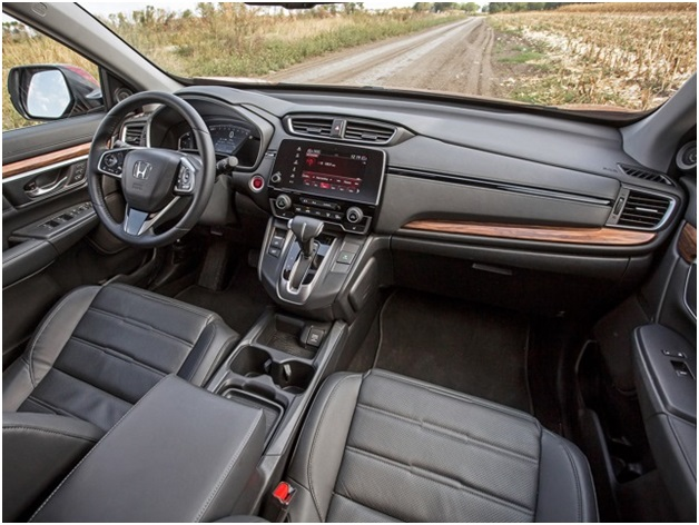 Салон Honda CR V