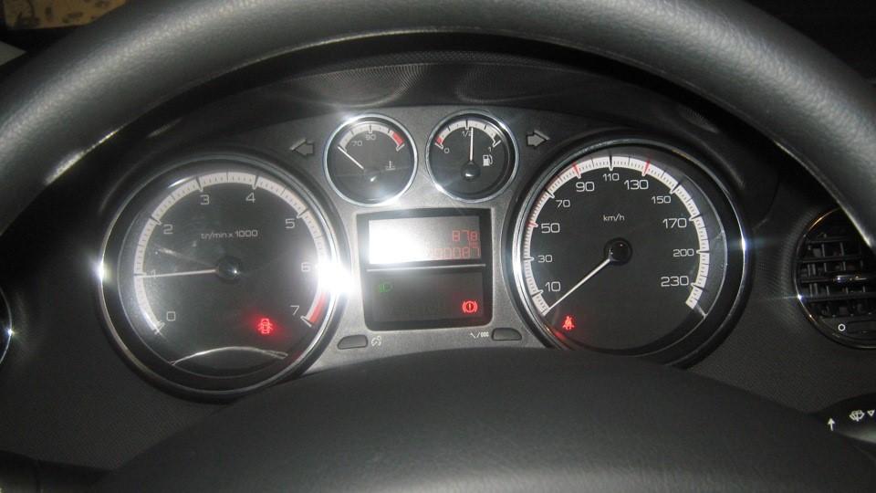Панель приборов авто в комплектации Access