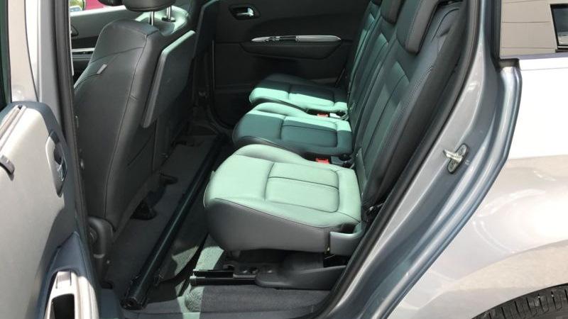 Внешний вид заднего ряда сидений