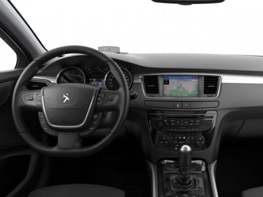 Внешний вид салона Peugeot 508
