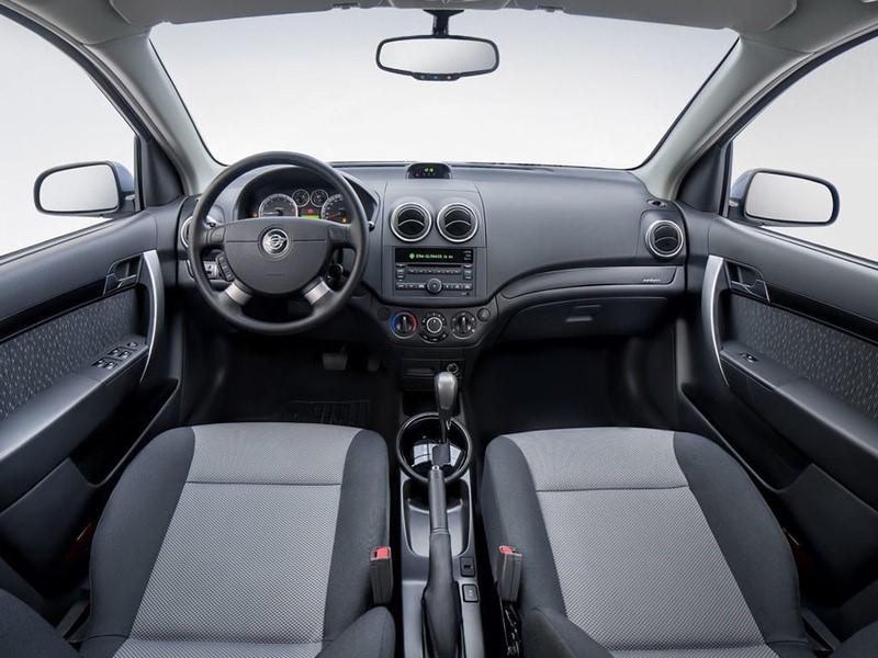 Внешний вид интерьера автомобиля