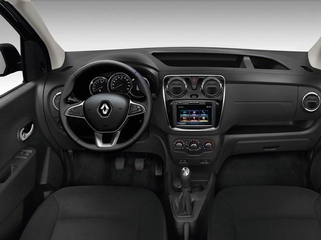 Салон автомобиля Renault Dokker