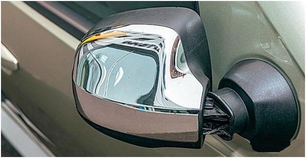 Хромированный корпус зеркала