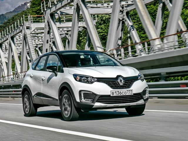 Внешний вид автомобиля Renault Kaptur