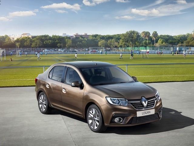 Внешний вид Renault Logan