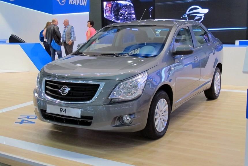 Дизайн автомобиля Ravon R4
