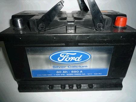 Оригинальный аккумулятор Ford Focus 3