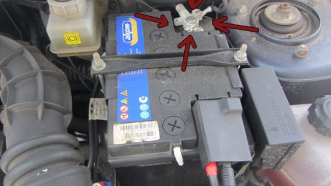 Родной заводской аккумулятор Lada Granta