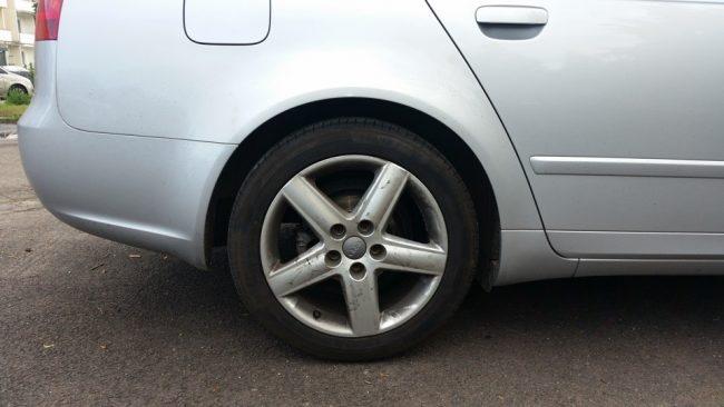 демонтировать колеса