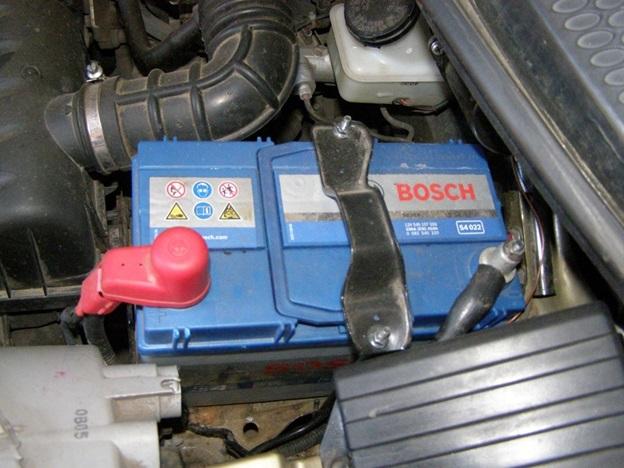 Аккумуляторная батарея на Daewoo Matiz