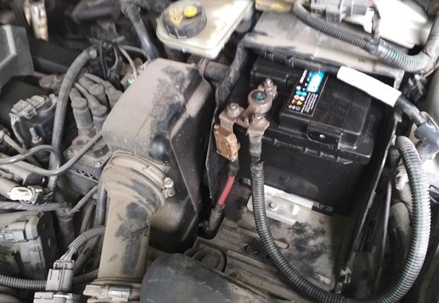 Аккумуляторная батарея на Ford Mondeo 4