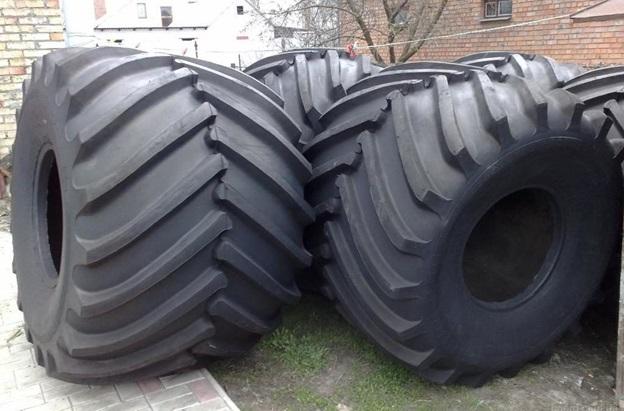 Широкопрофильные шины низкого давления