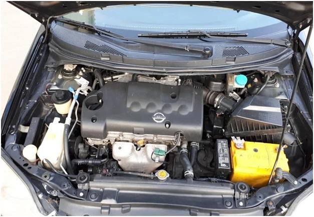 Подкапотное пространство Nissan Primera Р12