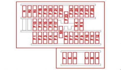 Схема основного монтажного блока