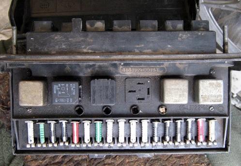 Блок старого образца