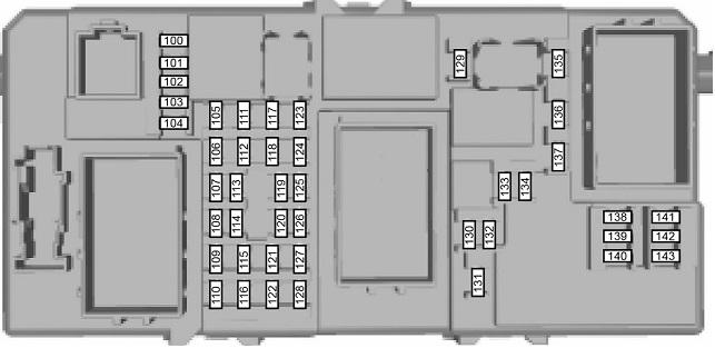 Схема внутреннего модуля
