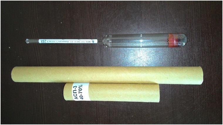 Ареометр – для замера плотности