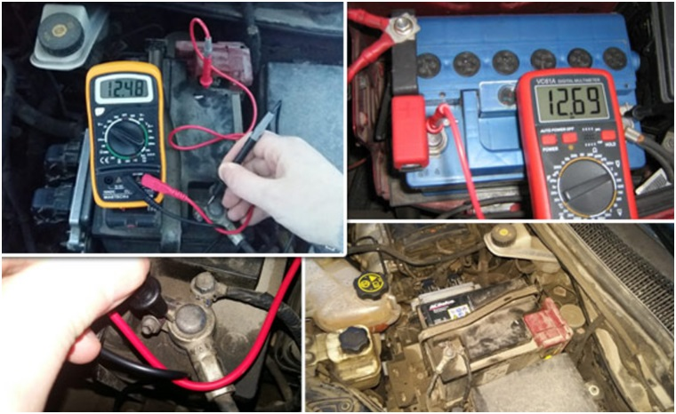 Измерение уровня заряда аккумуляторной батареи