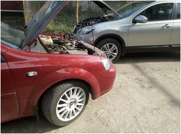 Запуск мотора Nissan Qashqai с использованием помощи другого автомобиля