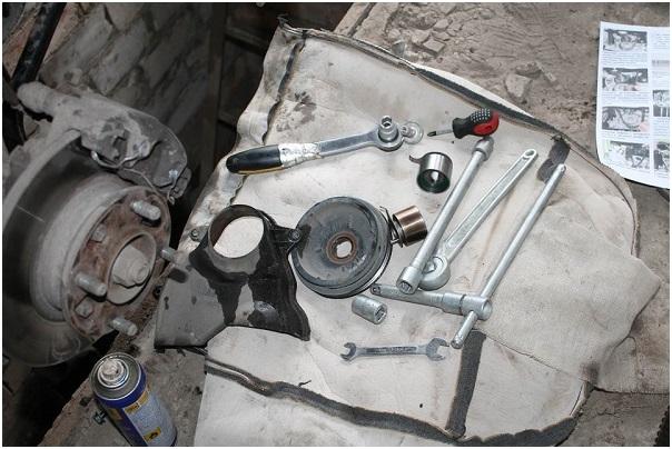 Минимальный набор инструментов для замены ремня ГРМ