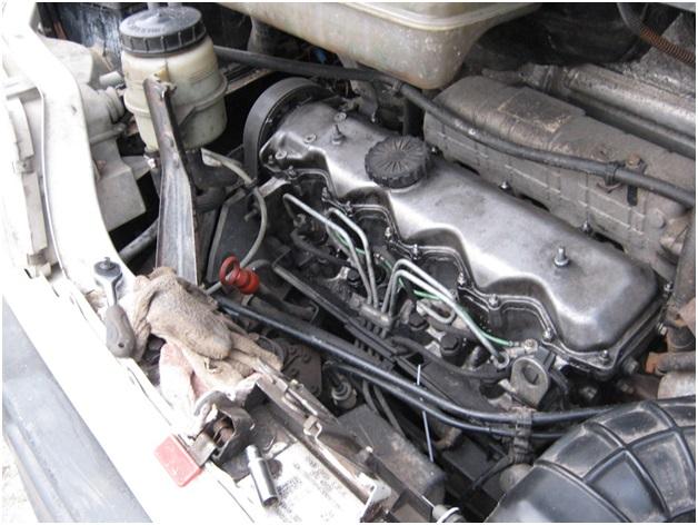 Мотор без верхних защитных крышек