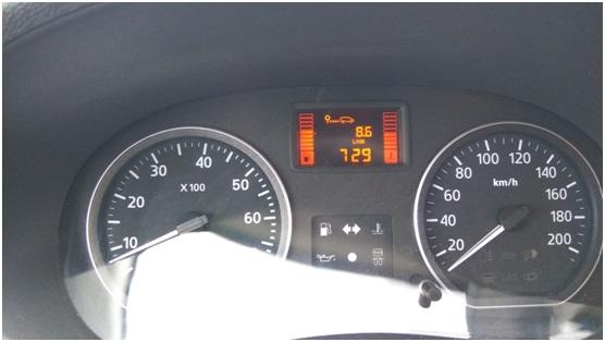 Затраты топлива с АКПП