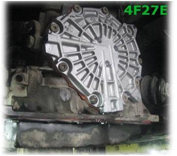 Задняя крышка коробки 4F27E через которую имеется возможность выполнить ремонт АКПП без ее демонтажа с Ford Focus 2