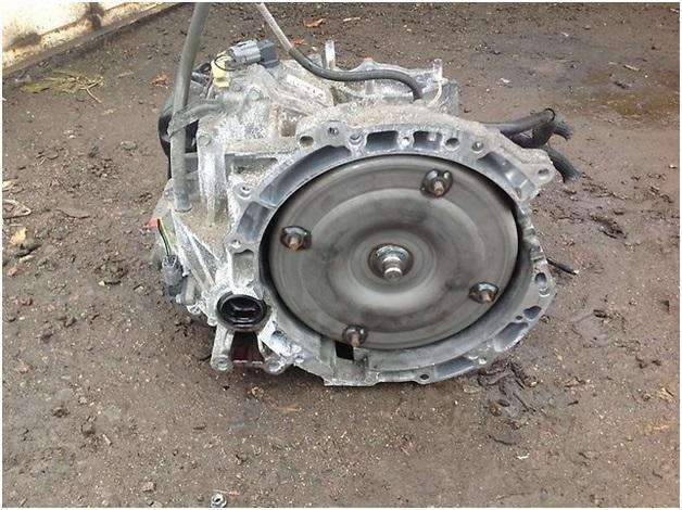 Демонтированная с автомобиля Ford Focus 2 автоматическая коробка перемены передач