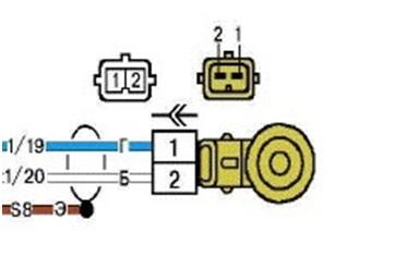 Схема подключения датчика детонации