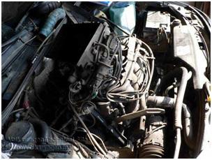 Демонтированная крышка радиатора