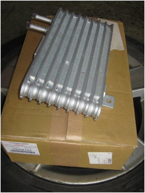 Новый радиатор охлаждения вариатора