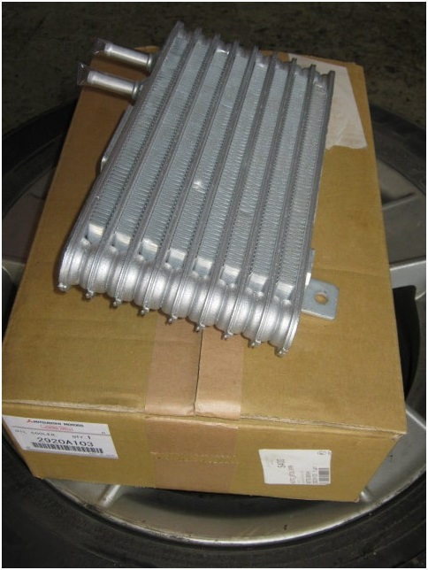 Дополнительный радиатор охлаждения вариатора