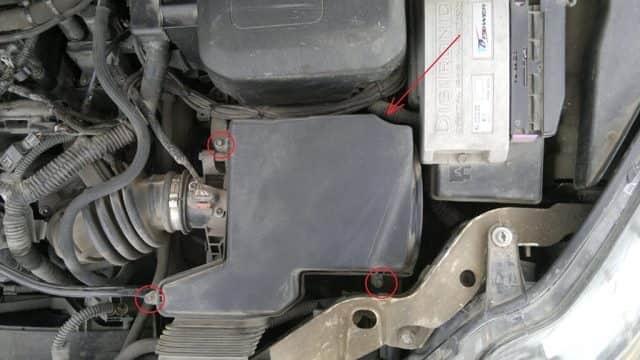 Воздушный фильтр Ford Focus 2