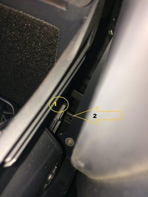 Салонный фильтр на Skoda Octavia A7