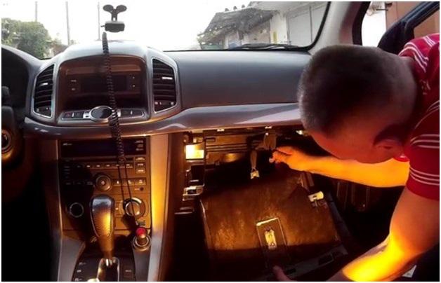 Салонный фильтр Chevrolet Captiva