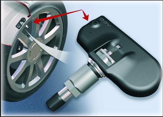 Датчик давления в шинах Hyundai Creta