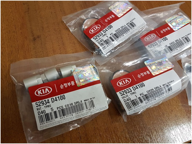 Оригинальные датчики давления в шинах Киа Оптима