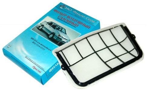Пластиковая решетка с фильтрующим элементом от ВАЗ 2114, 2115