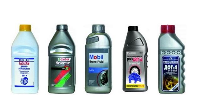 Разнообразие тормозных жидкостей