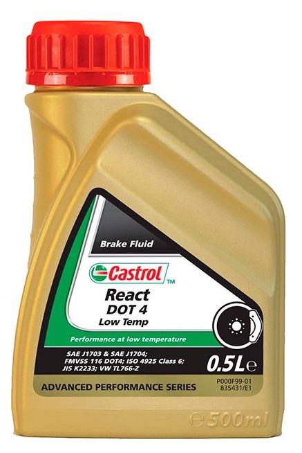 Castrol React DOT4 Low Temp