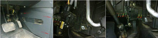 Салонный фильтр Ford Fusion