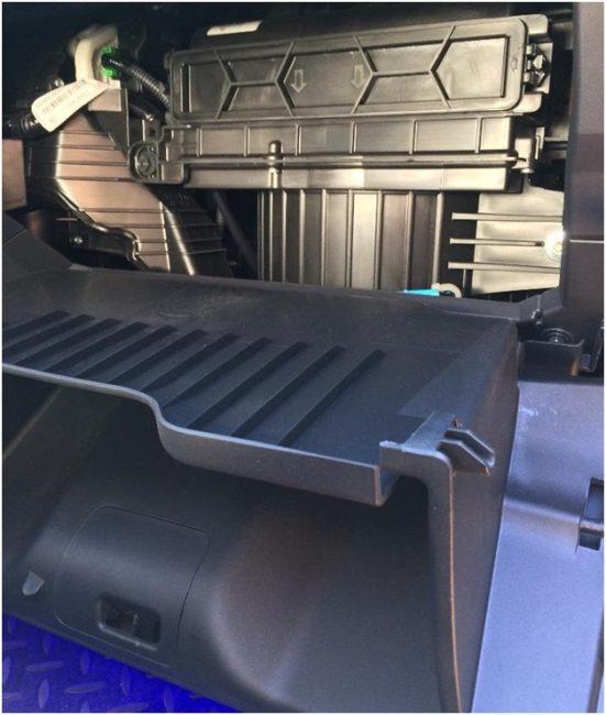 Салонный фильтр Honda CRV 3