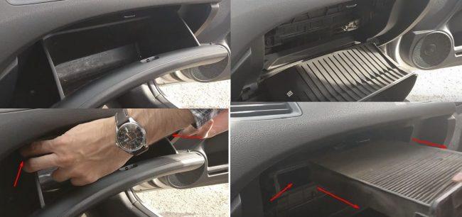 Салонный фильтр Honda Civic 4D