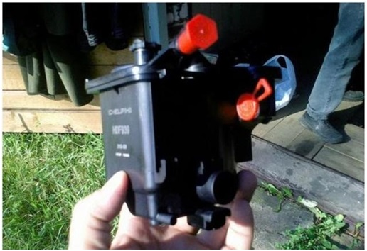 Топливный фильтр для дизельного Ситроен С4