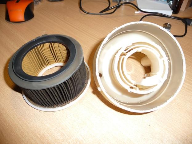 Внутреннее содержание фильтра тонкой очистки