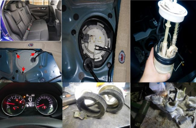 Топливный фильтр Nissan Qashqai