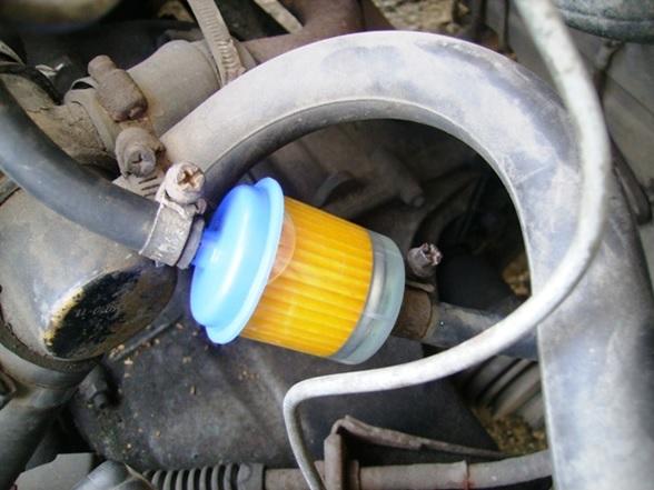 Контроль отсутствия просачивания бензина