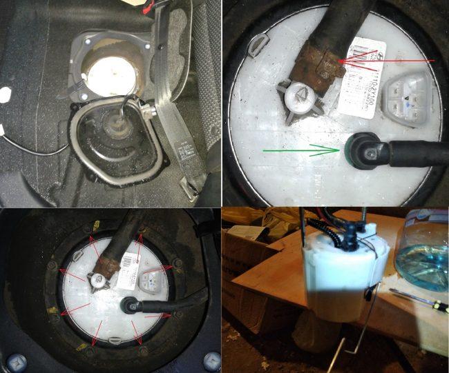 Топливный фильтр Хендай IX35
